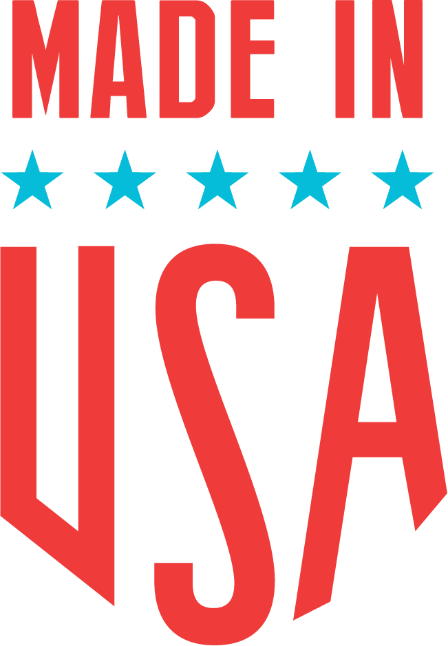 Made in USA icon for Beauty and the Biker handmade leather goods